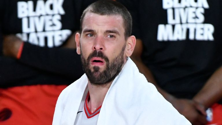 Marc Gasol helped the Toronto Raptors to the 2019 NBA title