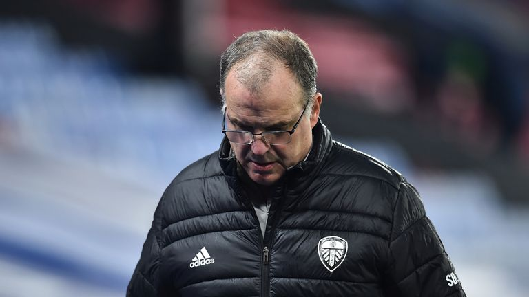Marcelo Bielsa refused to comment on Saturday about the offside decision