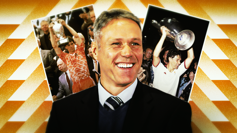 Dutch legend Marco van Basten