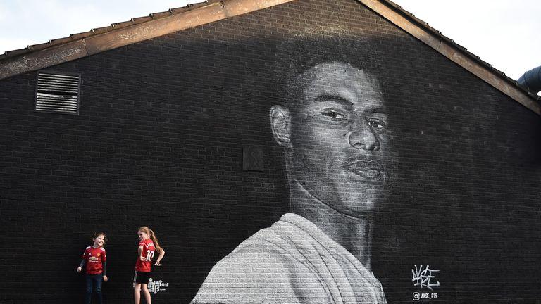 Marcus Rashford mural