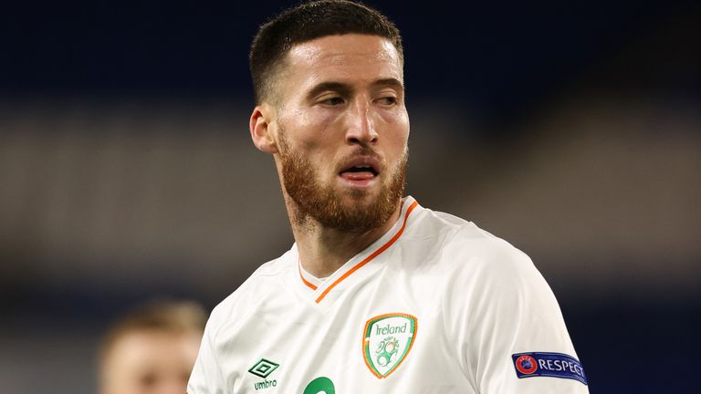 Republic of Ireland defender Matt Doherty