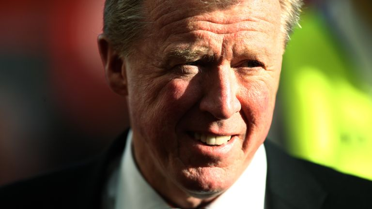 Steve McClaren spent three seasons as a player at Derby and two spells as manager