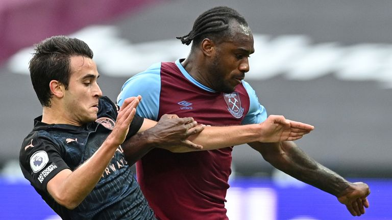 Michail Antonio will miss the game at Fulham on Saturday