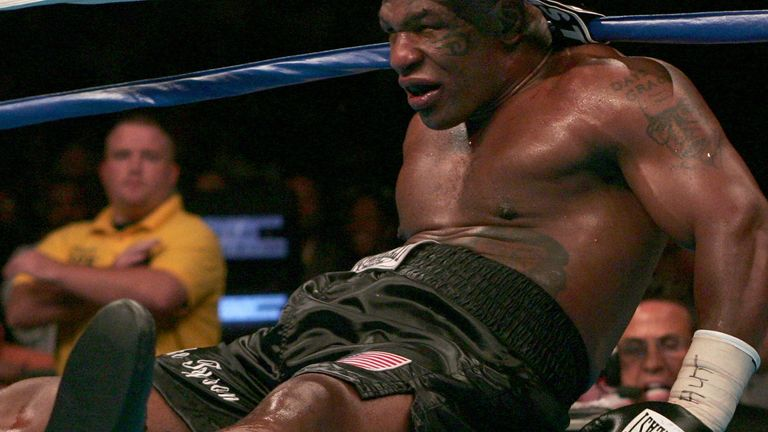 A slumped Tyson's career was about to end
