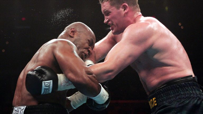 McBride claims that Tyson tried to illegally injure him