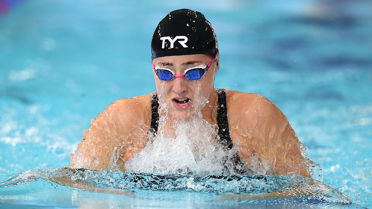 Molly Renshaw also wrote her name into the record books with a strong showing in the 100 metres breaststroke
