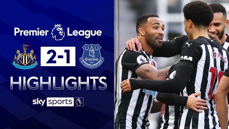 NEWCASTLE 2-1 EVERTON