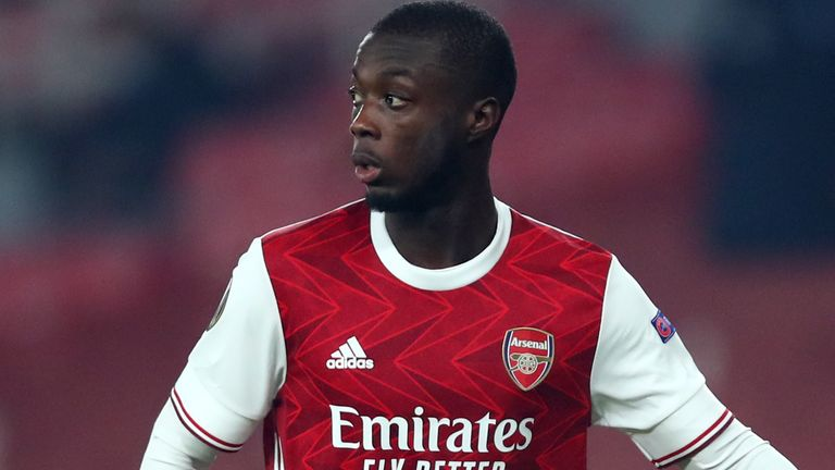 Nicolas Pepe is determined to prove he deserves more game time at Arsenal