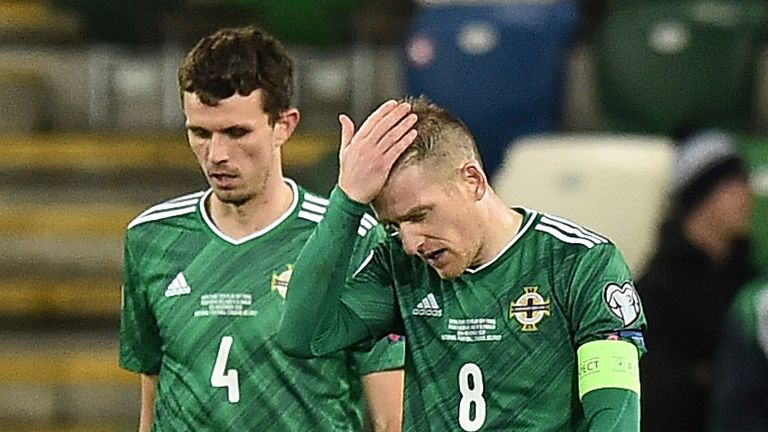 Northern Ireland were denied a second consecutive appearance at a European Championships with their extra-time defeat to Slovakia