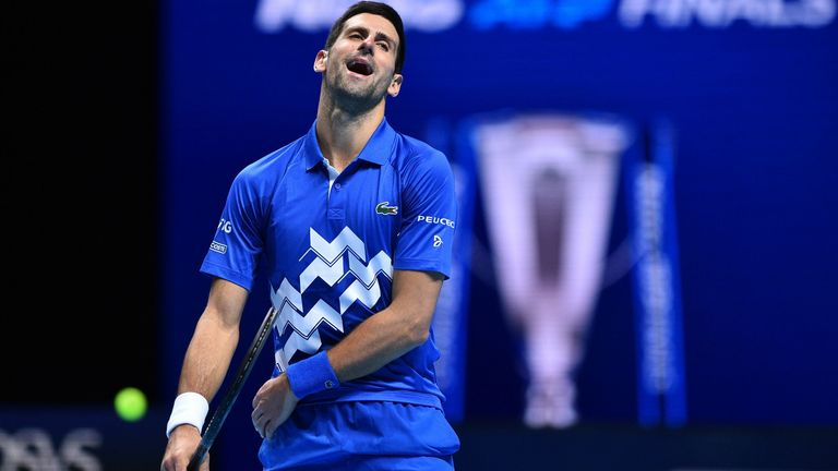Djokovic's record after 38 matches this season: 37-1. Djokovic's record since: 4-4