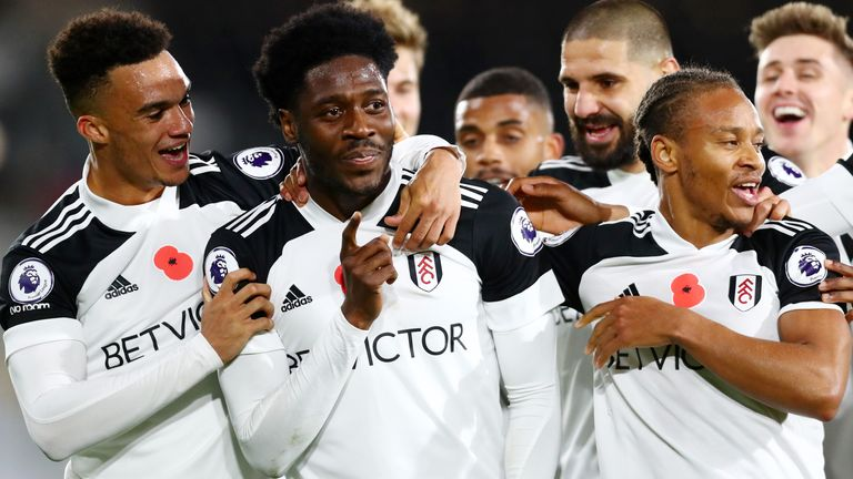 Ola Aina and Bobby Decordova-Reid gave Fulham a 2-0 lead against West Brom