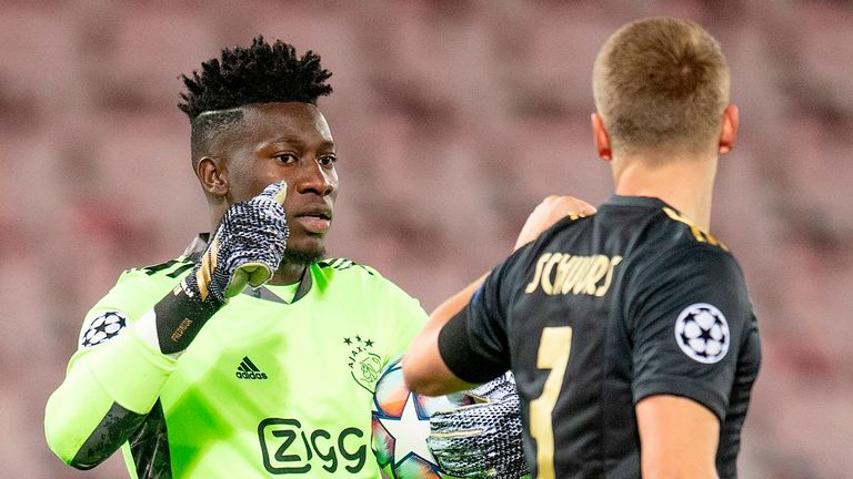 Ajax were helped by an early goal in their away win over Midtjylland