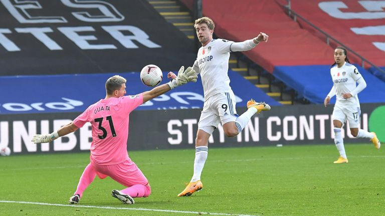 Bamford was denied a first-half equaliser by a marginal offside call