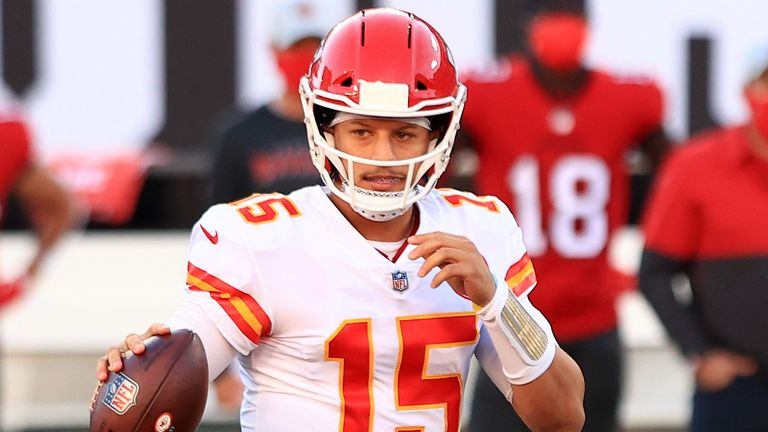 Patrick Mahomes will be rested for the final week of the regular season