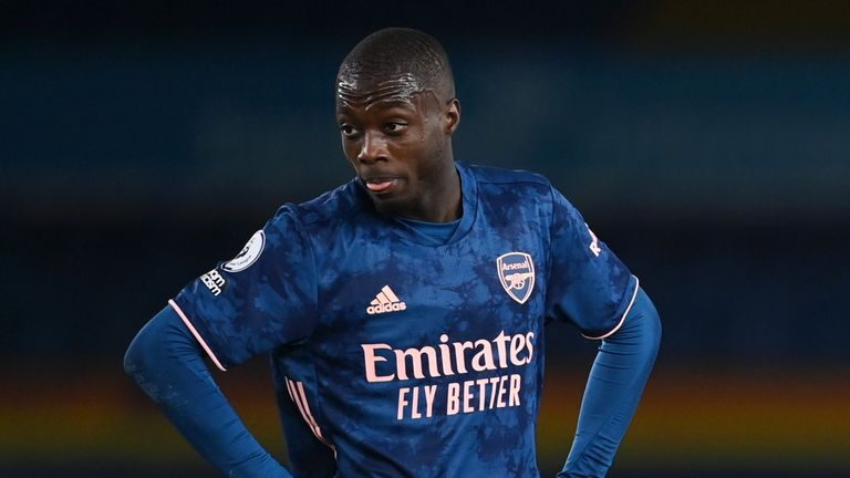 Nicolas Pepe: Arsenal boss Mikel Arteta says winger must deal with club's demands after 'huge investment' | Football News