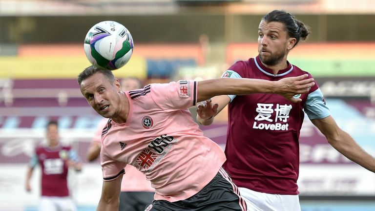 Sheffield United defender Phil Jagielka