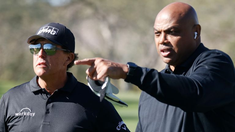 Phil Mickelson and Charles Barkley won The Match: Champions for Change
