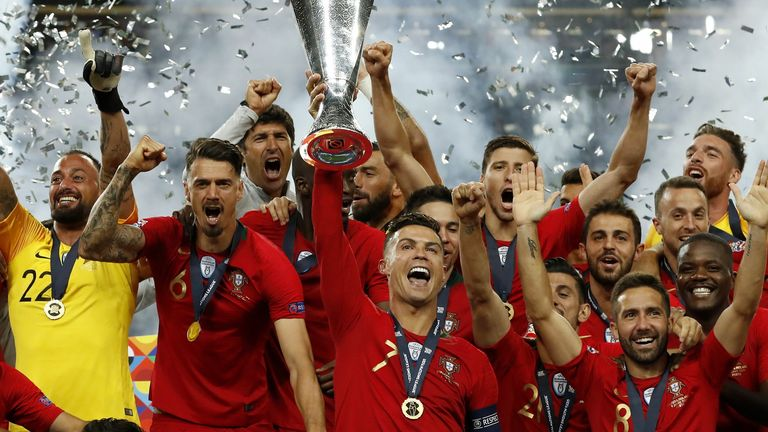 Portugal won the inaugural Nations League but won't be in the finals