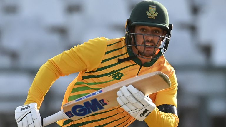 De Kock is making his way as captain having succeeded Faf du Plessis as South Africa's white-ball skipper