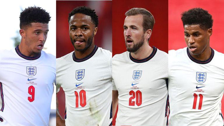England' fab four