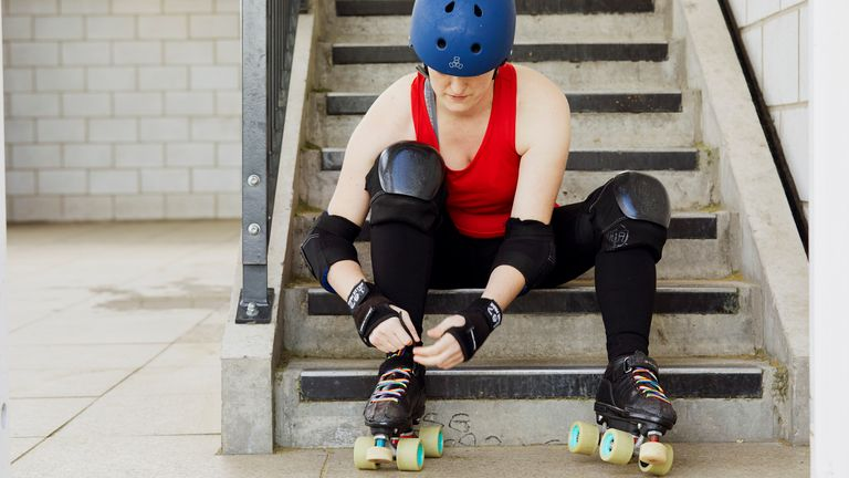 Rainbow Laces, roller derby (Stonewall)