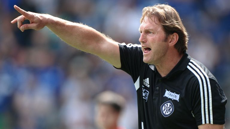 Ralph Hasenhuttl in charge of German side Aalen