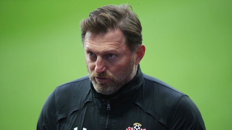 Ralph Hasenhuttl is not paying attention to speculation linking him with Manchester United