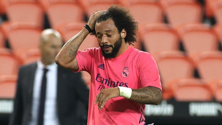 Real Madrid were humbled 4-1 by Valencia before the international break