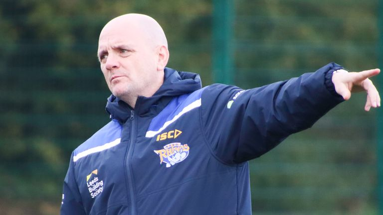 Richard Agar will be watching from home while self-isolating as Leeds take on Catalans
