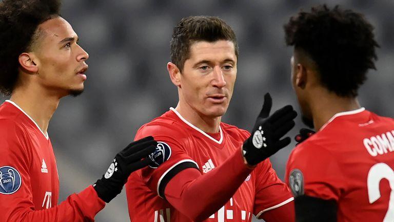 Bayern Munich Beat Salzburg To Reach Last 16 Champions League Round Up Football News Sky Sports