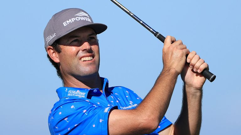 Robert Streb is three shots clear at the top