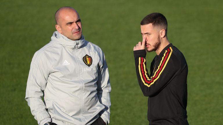 Roberto Martinez is confident Belgium will see the best of Eden Hazard next year