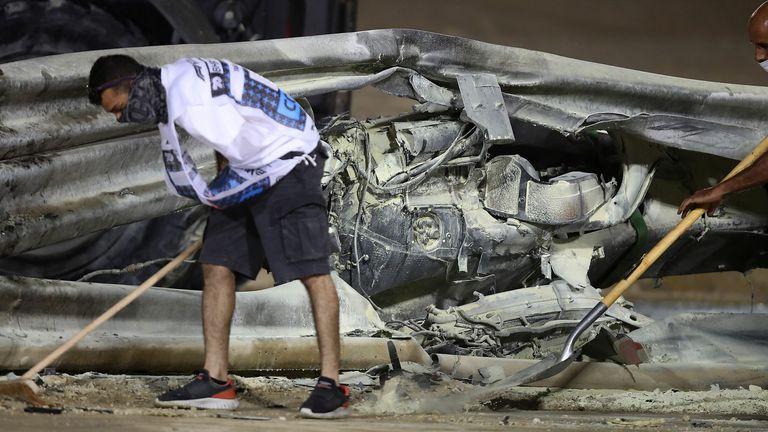 Romain Grosjean: F1 and FIA investigations begin into Bahrain GP accident