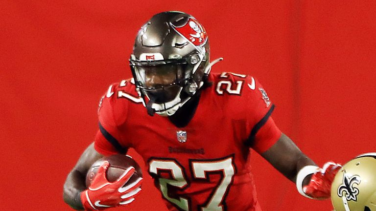 Ronald Jones Tampa Bay Buccaneers Place Running Back On Covid 19 List Nfl News Sky Sports