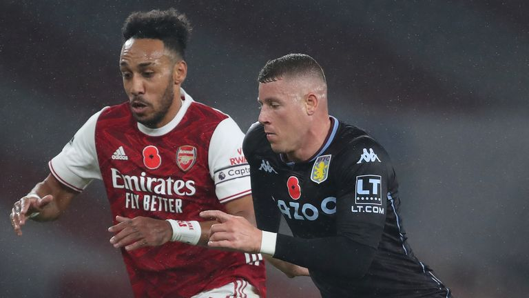 Ross Barkley caused countless problems for Arsenal on the night