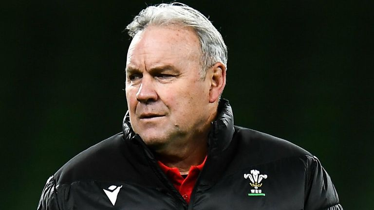 John Mitchell understands the pressure Wales head coach Wayne Pivac is under