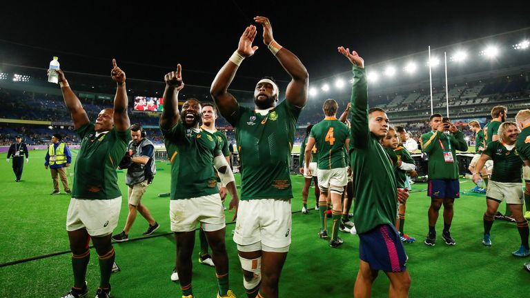 Rumours South Africa could join the Six Nations have been put to one side
