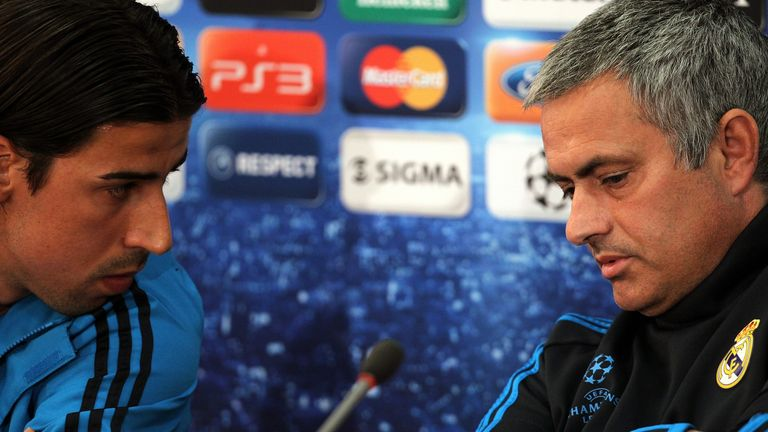Sami Khedira continues to hold former manager Jose Mourinho in high regard