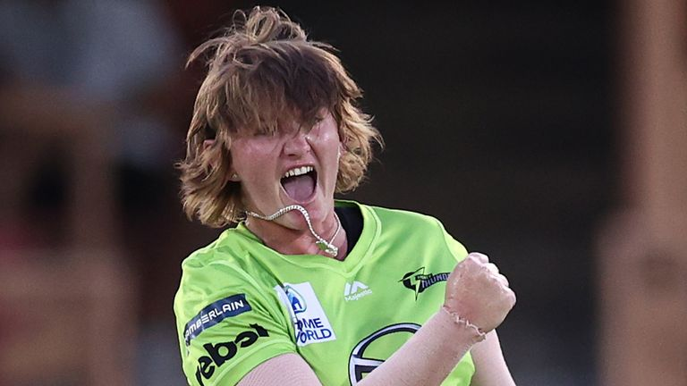 Sammy Jo-Johnson took two wickets for Sydney Thunder in the final and 22 over the course of the tournament