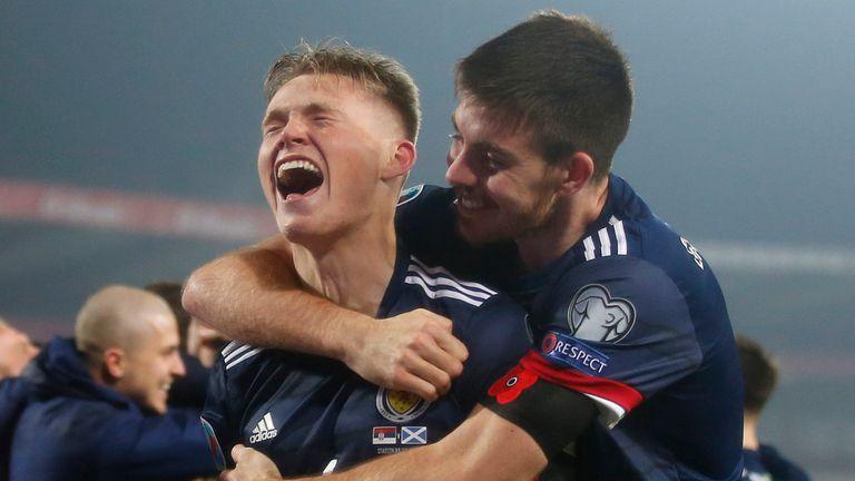 Scotland qualify for Euro 2020: Steve Clarke, Ryan Christie, Darren  Fletcher show what it means | Football News | Sky Sports