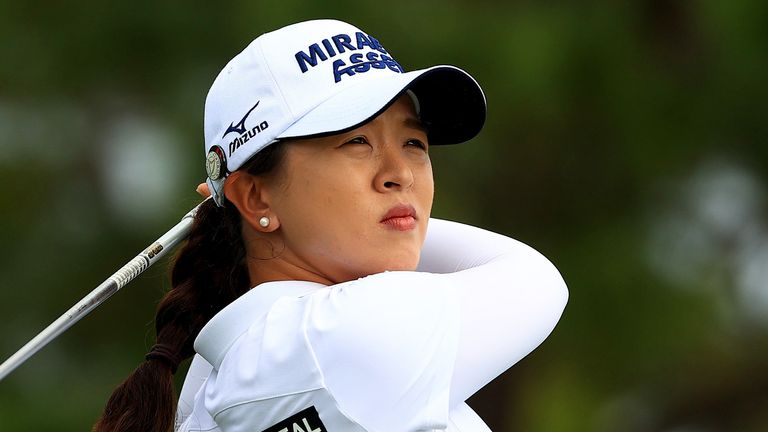Kim's final round 70 was enough for her 12th LPGA title
