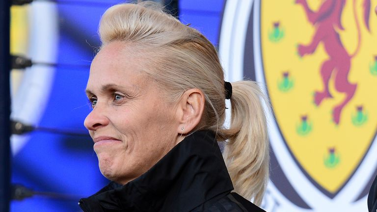 Shelley Kerr revealed how Steve Clarke has been a source of support for her and the Scotland Women's side