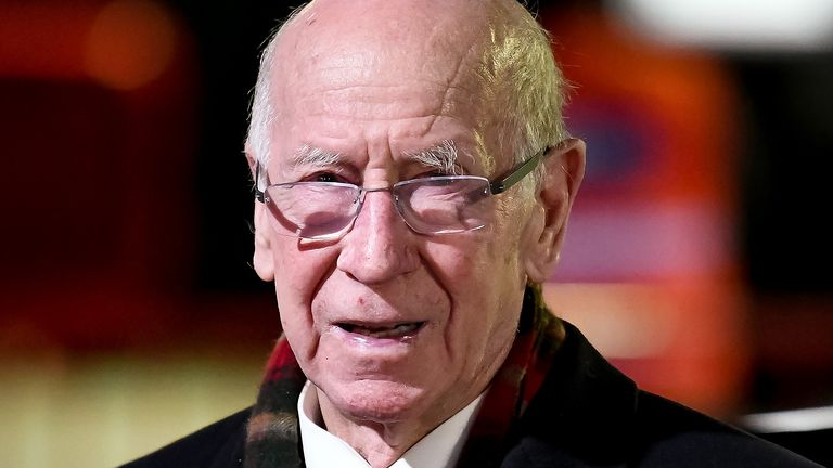 England and Manchester United legend Sir Bobby Charlton has been diagnosed with dementia