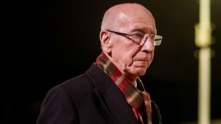 Sir Bobby Charlton has been diagnosed with dementia