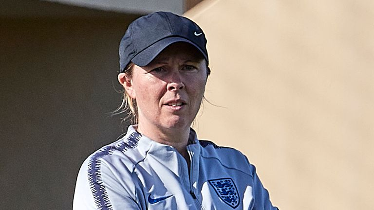 Rehanne Skinner has worked with England's U19, U21 and senior women's sides