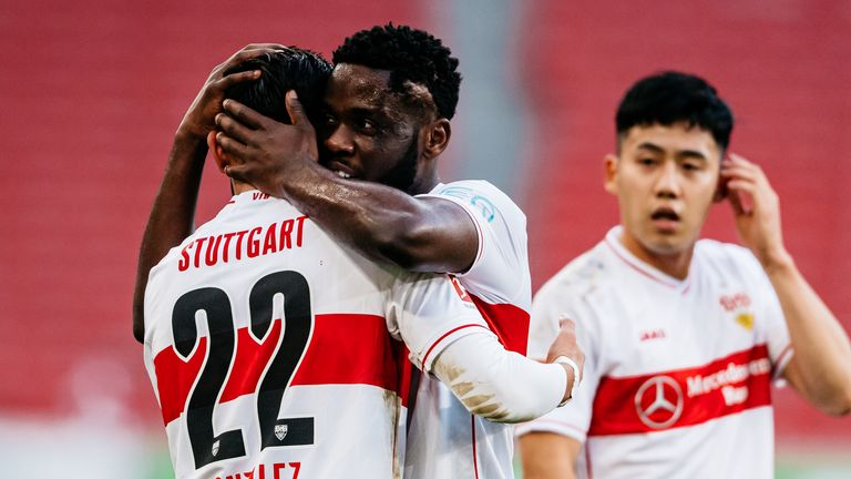 Stuttgart maintained their 100 per cent home record in fine style