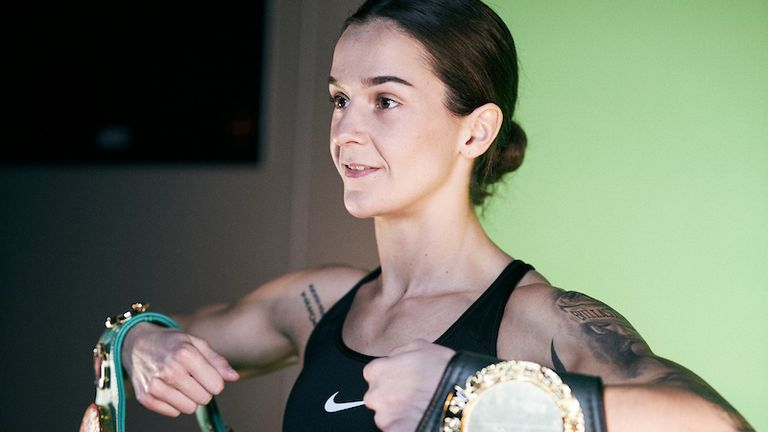 Terri Harper is the WBC super-featherweight champion