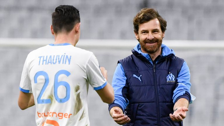 Florian Thavin was on target as Andre Villas-Boas' Marseille eased past Nantes