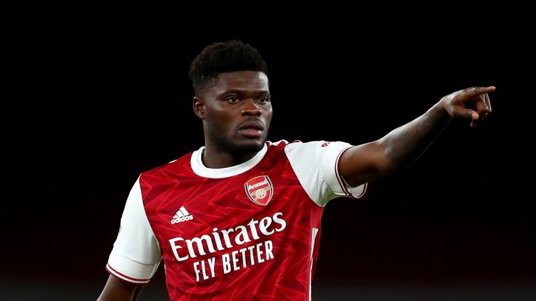 Thomas Partey has hit the ground running at Arsenal, and put in a strong showing in their 1-0 win at Manchester United on Sunday