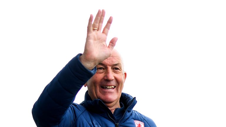 Tony Pulis is back in football for the first time since leaving Middlesbrough